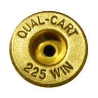 QUALITY CARTRIDGE BRASS 225 WINCHESTER UNPRIMED 20/BAG