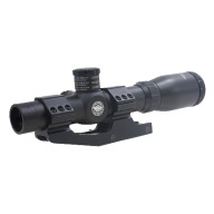 BSA 1-4x24mm TACTICAL SCOPE 1 PIECE WEAVER MNT