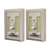 CYCLOPS COB LED 2PK LIGHT SWITCH 200 LUMENS