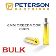 Peterson Brass 6mm Creedmoor Small Primer Unprimed Bulk Box of 500