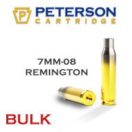 Peterson Brass 7mm-08 Remington Unprimed Bulk Box of 500