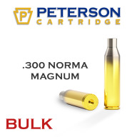 Peterson Brass 300 Norma Mag Unprimed Bulk Box of 250