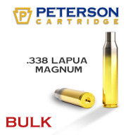 Peterson Brass 338 Lapua Unprimed Bulk Box of 250