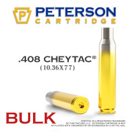 Peterson Brass 408 Cheytac Unprimed Bulk Box of 200
