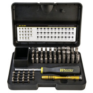 WHEELER 55pc SCREWDRIVER SET SAE/METRIC/HEX/TORX
