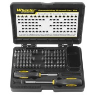 WHEELER ENGINEERING 72pc GUNSMITH SCREWDRIVER SET