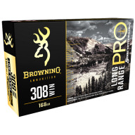 Browning Ammo 308 Winchester 168gr Match Rifle