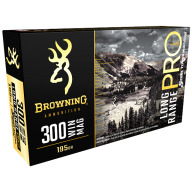 Browning Ammo 300 Winchester Mag 195gr Match Rifle