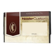 NOSLER AMMO 264 WINCHESTER 140gr Partition CUSTOM 20b 10cs