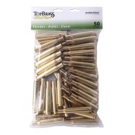 Top Brass 50 BMG Once Fired Military NATO Unprimed Bag of 50