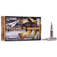 FEDERAL AMMO 6.5 CREED 130gr TERMINAL ASCENT 20b 10c