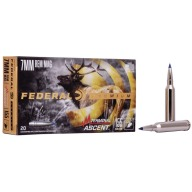 FEDERAL AMMO 7MM REMINGTON MAG 155gr TERMINAL ASCENT 20b