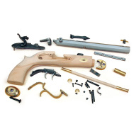 TRADITIONS TRAPPER PISTOL KIT .50 CAL / RAW HARDWOOD