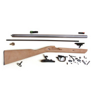 TRADITIONS DEERHUNTER RIFLE KIT .50 CAL / RAW HARDWOOD