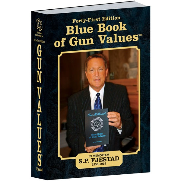 BLUE BOOK OF GUN VALUES 41th EDITION (NEW) 2020